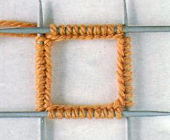 Набор петель. Вязание на 4 спицах