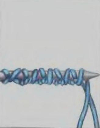 фото вязания спицами для левшей