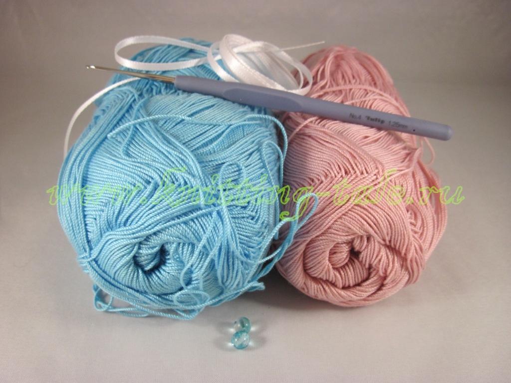 пряжа для вязаного чехольчика пасхального яйца