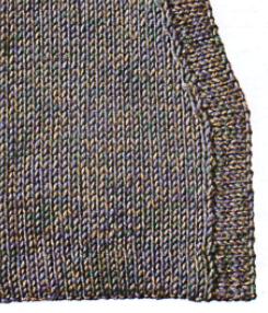 Как вязать спицами подгибы в одежде