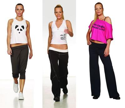 Женская спортивная одежда выбираем