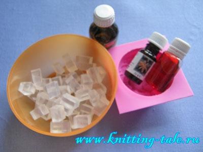 Мыло ручной работы из мыльной основы мастер класс