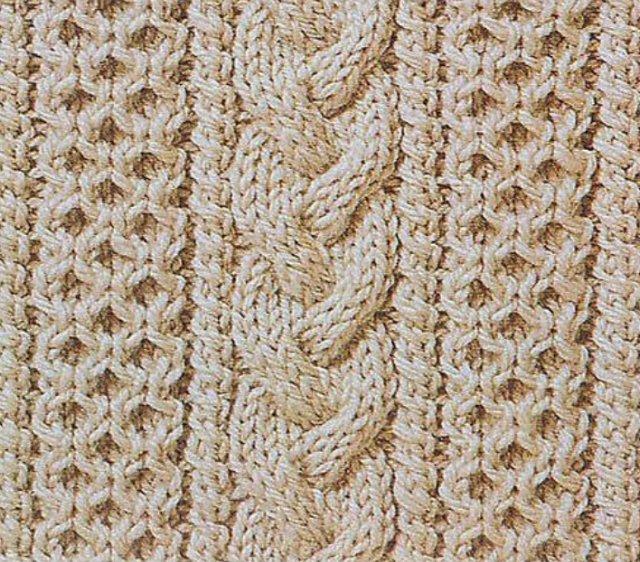 схемы вязания аранов