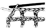 Вязание филейной сетки крючком. убавление ячеек слева