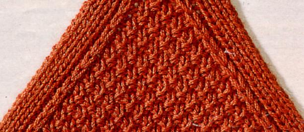 Вытянутые петли вдоль скосов линий реглана