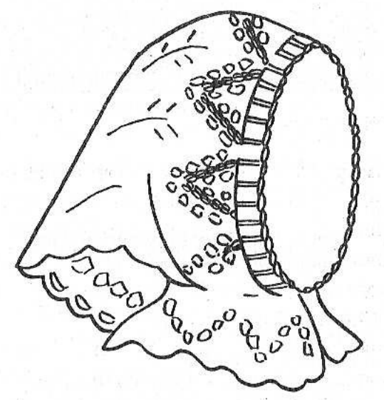 вязаная косынка для девочки вязаная сказка