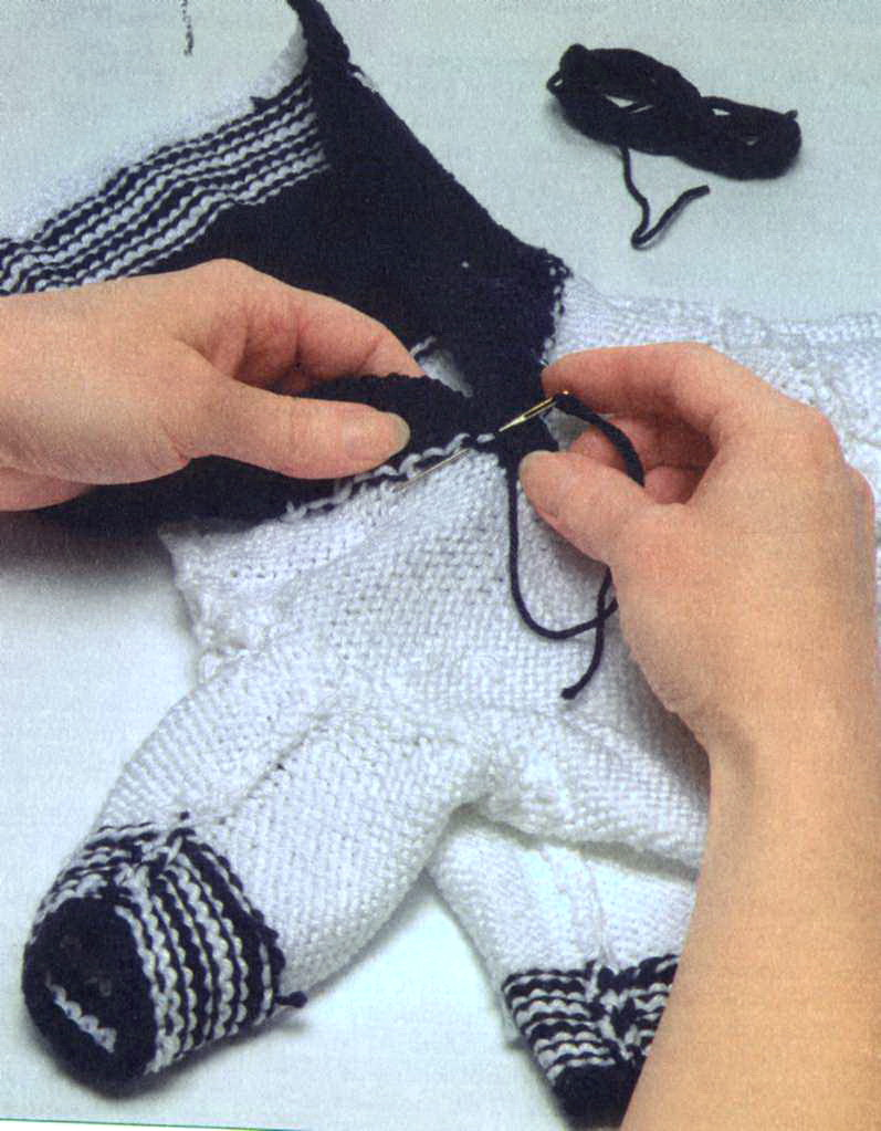 схема вязаного свитера для таксы