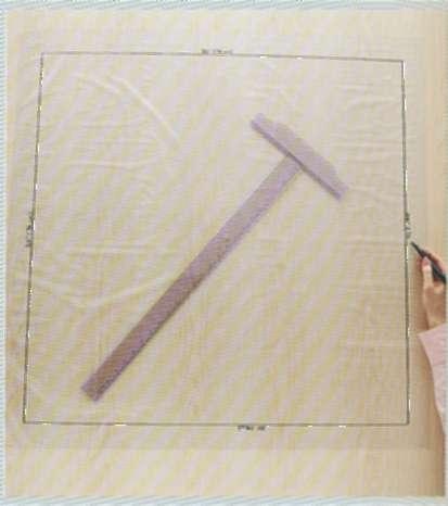Выкройка для подушек с острым краем