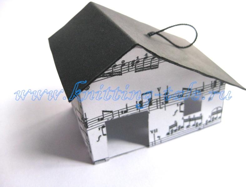 Как сделать домик из картона своими руками - мастер-класс