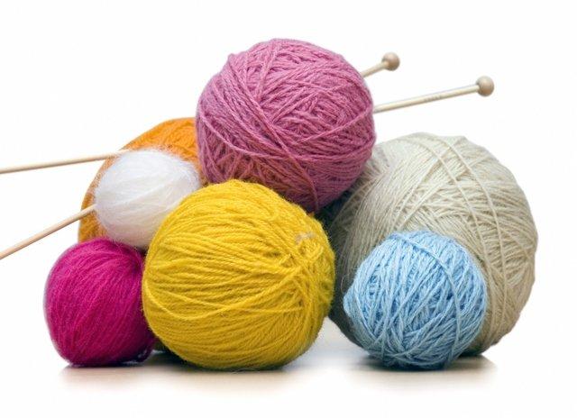 рукоделие вязание спицами